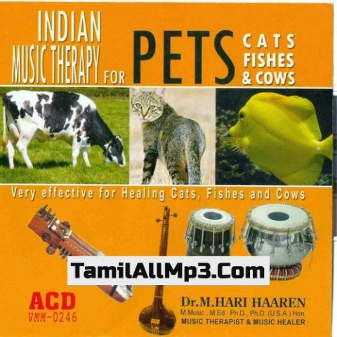 Indian Music Therapy For Pets - Cats Fishes And Cows Album Poster