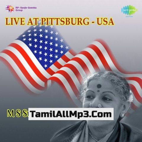 M. S. Subbulakshmi - Live At Pittsburg Usa Album Poster