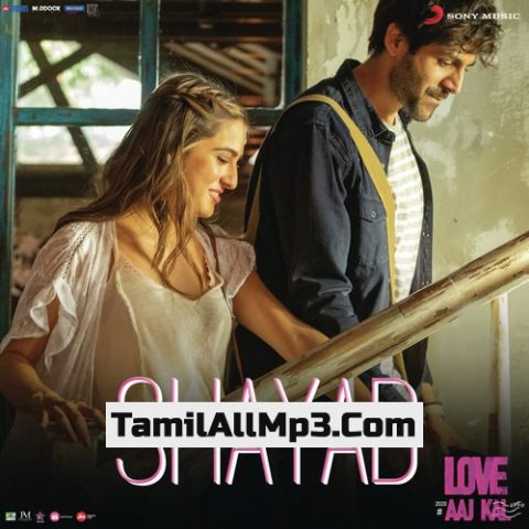 """Shayad From """"Love Aaj Kal"""" Album Poster"""