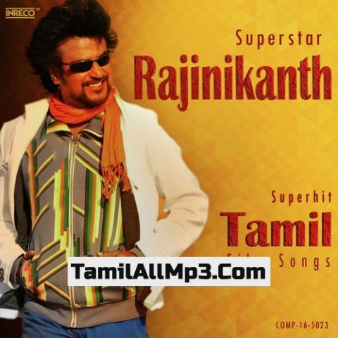 Superstar Rajinikanth Superhit Tamil Film Songs Album Poster