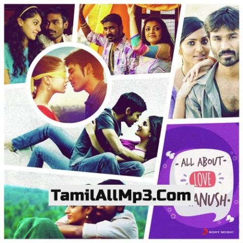 All About Love: Dhanush Album Poster