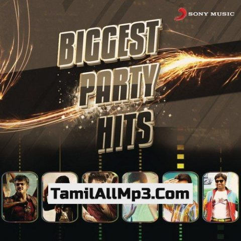 Biggest Party Hits Album Poster