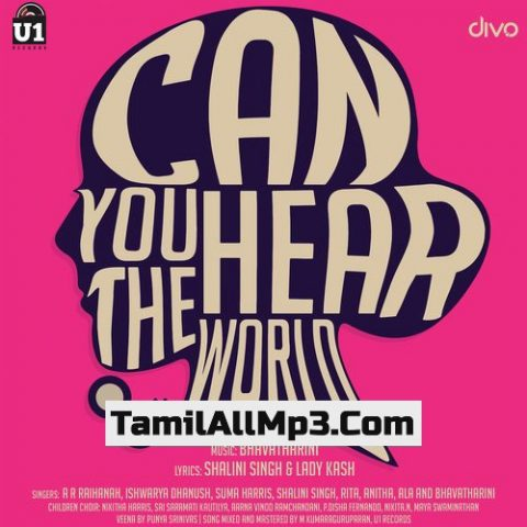 Can You Hear The World Album Poster
