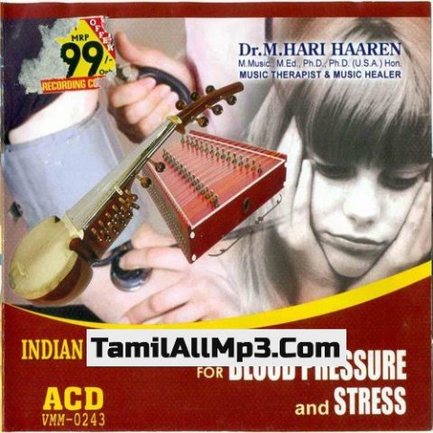 Indian Music Therapy For Blood Pressure And Stress Album Poster