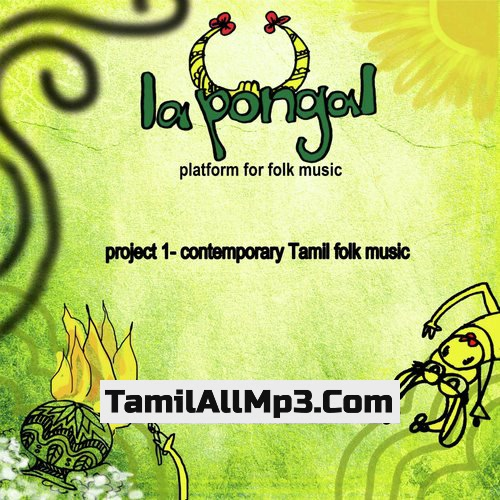 Project 1: Contemporary Tamil Folk Music Album Poster