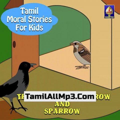 Tamil Moral Stories for Kids - The Story Of The Crow And Sparrow Album Poster