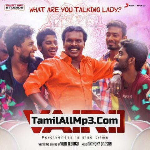 """What Are You Talking Lady? From """"Vairii"""" Album Poster"""